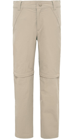 The North Face Boys Convertible Hike Pant Dune Beige